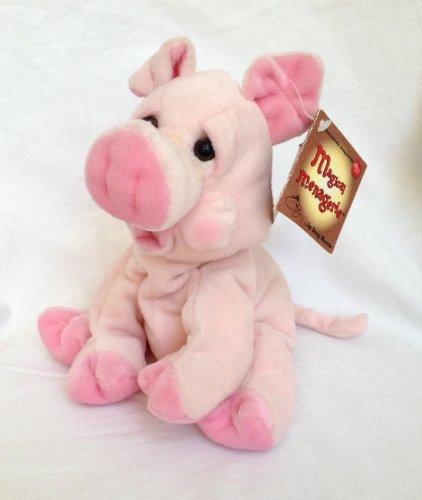 "Russ Prudence 8"" Plush Pig - 1"