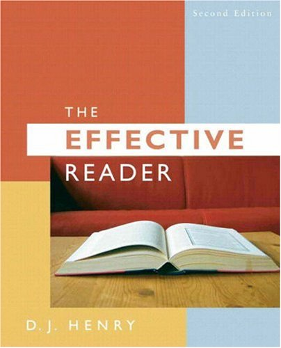 Effective Reader, The (with MyReadingLab Access Code...