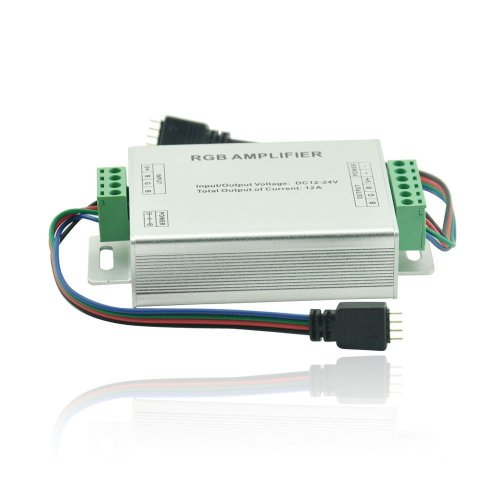 Dn Data Repeater Rgb Signal Amplifier For Smd 3528 5050 Led Strip Light