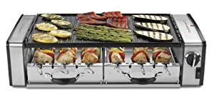 Cuisinart GC-17NC Griddler Centro, Silver/Black