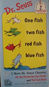 One Fish Two Fish Red Fish Blue Fish/Oh, the Thinks You Can Think/Foot Book [VHS]