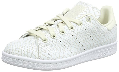 Adidas Stan Smith W Scarpe Low-Top, Donna, Multicolore (Owhite/Owhite/Ftwwht), 38