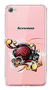 WOW Transparent Printed Back Cover Case For Lenovo S60