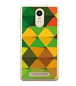 Colourful Pattern 2D Hard Polycarbonate Designer Back Case Cover for Xiaomi Redmi Note 3 :: Xiaomi Redmi Note 3 Pro :: Xiaomi Redmi Note 3 MediaTek