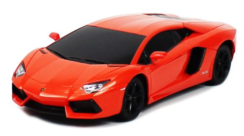 Licensed Lamborghini Aventador Lp700-4 Electric Rc Car 1:24 Scale Ready To Run Rtr, Extreme Quality, Nicely Detailed Throughout (Colors May Vary)