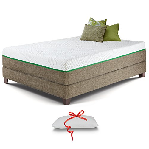 Resort Sleep NEW 12-Inch Queen size Ultra Luxury Gel Memory Foam Mattress...