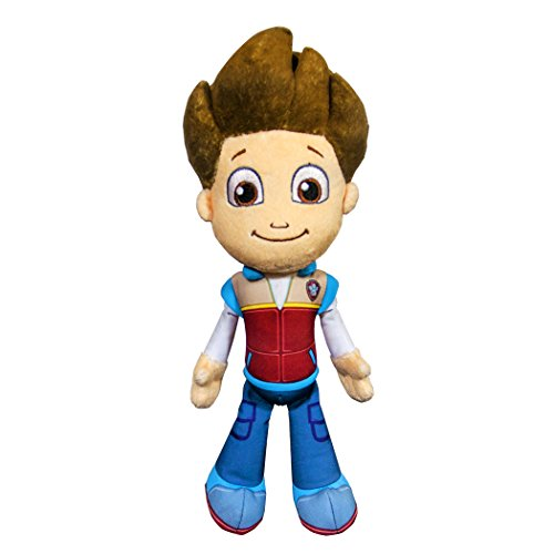 Nickelodeon, Paw Patrol - Plush Pup Pals- Ryder (Rocky Blue Doll compare prices)