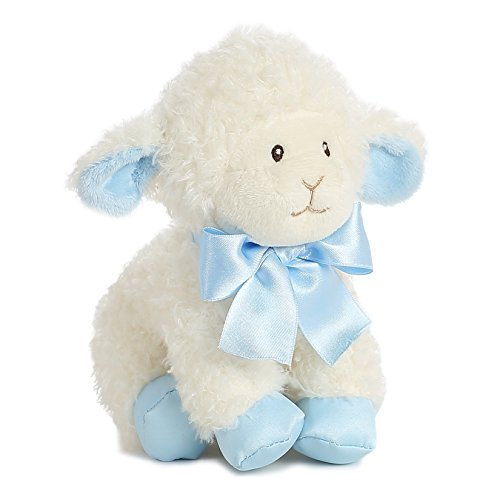 "Blessing Blue Lamb 8"" by Aurora"