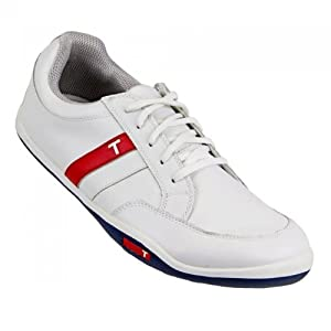True Linkswear True Phoenix Golf Shoes, White/Navy, 12 US