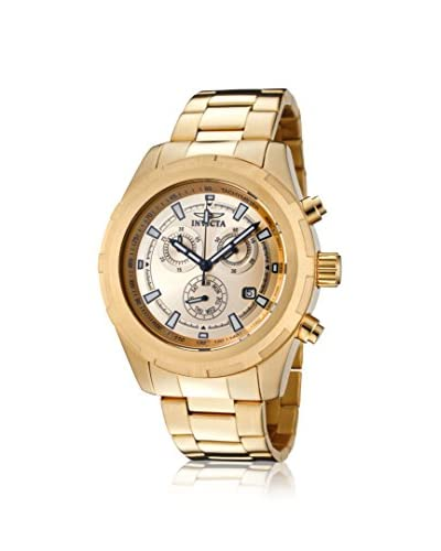 Invicta Men's INVICTA-1561 Gold-Tone 18K Gold-Plated Stainless Steel Watch