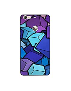 LETV 1s ht003 (117) Mobile Case from Mott2 - Different Color Block Abstract (Limited Time Offers,Please Check the Details Below)
