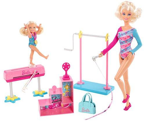 Barbie I Can Be Gymnastics Teacher Doll Playset