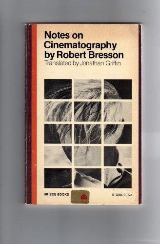 Notes on Cinematography PDF