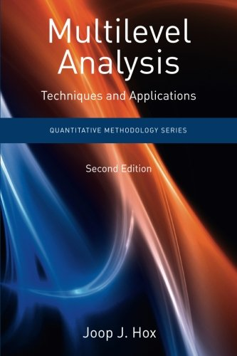 Multilevel Analysis: Techniques and Applications, Second Edition (Quantitative Methodology Series) (Hierarchical Linear Models compare prices)