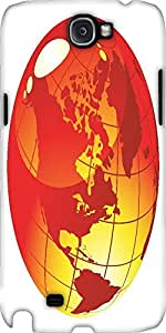 Snoogg Glossy Spheres And Globes Vector Designer Protective Back Case Cover F...