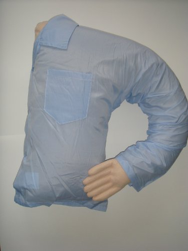 Dream Man Holding Arm Love Body Pillow Blue Shirt