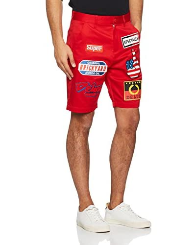 Love Moschino Bermuda Rojo