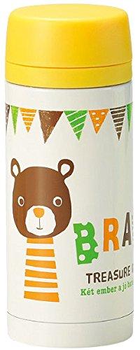 丸和貿易 保温保冷の子供用水筒 バンビーニール マグボトル クマ 400689502