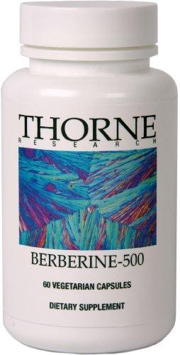 Thorne Research Berberine 500 60 Vegetarian Capsules