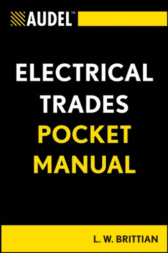Audel Electrical Trades Pocket Manual - Wiley - 1118086643 - ISBN:1118086643