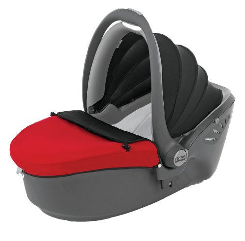Britax Baby Safe Sleeper Group 0 Car Seat (Red/Sand)