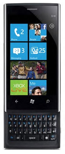 Dell Venue Pro Unlocked Phone with Windows 7 OS, 5MP Camera, GPS and FM Radio – Unlocked Phone – US Warranty – Black