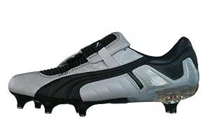 Puma V Konstrukt III SG hommes Cuir chaussures de football / Cleats - argenté - SIZE EU 40