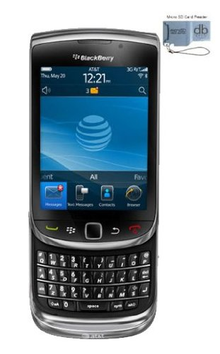 Unlocked AT&T Branded Blackberry Torch 9800 Smartphone