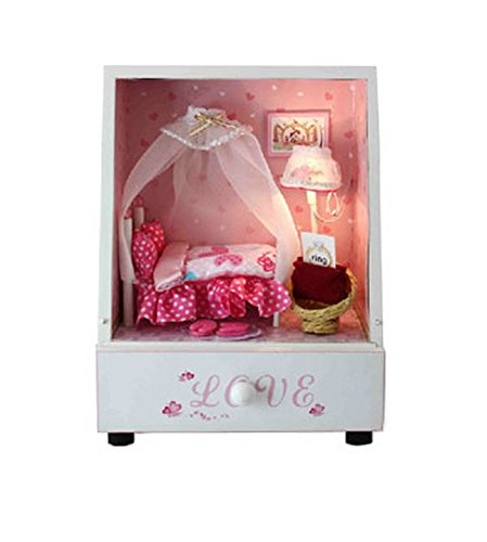 Doll Dream Room Miniature House Manual Assembly Model ()
