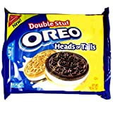Oreo Heads or Tails Double Stuff Cookies 15.25 oz (432g) [Misc.]