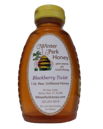 Raw Blackberry Honey 16oz (Pure Natural Honey)