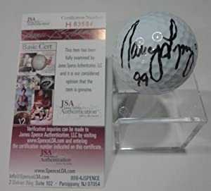 Nancy Lopez LPGA Signed Autographed Wilson Pro Staff 1 Golf Ball JSA COA #h83594 by Hollywood Collectibles