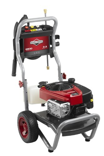 Briggs & Stratton 20575 2.3-Gpm 2800-Psi Gas Pressure Washer With 775-Professional Series 175Cc Engine And Readystart Technology, Engine Oil Included