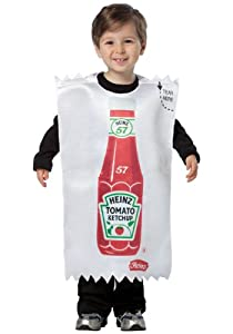 Rasta Imposta - Heinz Ketchup Packet Toddler Costume by Rasta Imposta