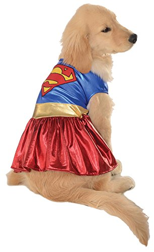 costume accessories - Cat & Dog Costume Supergirl Xl