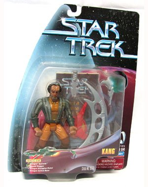Star Trek Warp Factor Series 4 Kang Figure