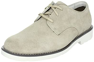 Rockport Men's Ridge Valley Oxford,Taupe Suede,6.5 W US