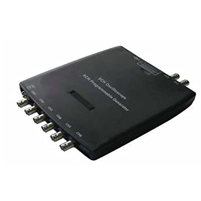 Hantek\xae 1008 PC Digital Oscilloscope DAQ 8CH Programmable Generator 2.4MSa/s 12Bits