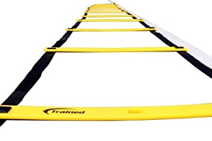 Agility Ladder -Professional Equipment to Increase Your Speed, Strength and Agility. Great for Soccer, Basketball and More, Speed Agility Ladder Drills Will Increase Acceleration. Agility Ladder Training, Great Agility Ladder For Kids.