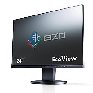 EIZO FlexScan 23.8インチ 液晶モニター 1920×1080 IPSパネル HDMI DVI-D ノングレア EV2450-BK