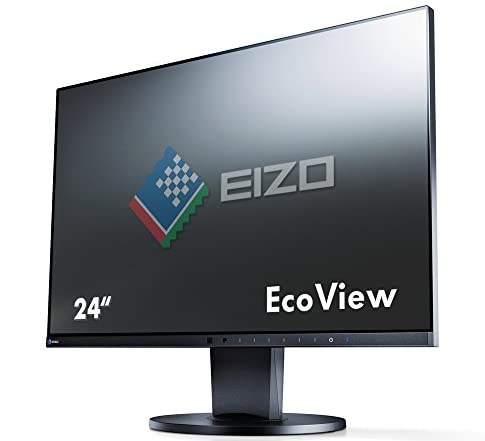 EIZO FlexScan 24.1インチ カラー液晶モニター ( 1920×1200 / IPSパネル / 5ms / ノングレア ) EV2455-BK