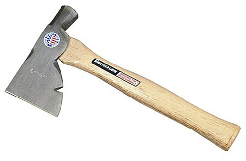 Vaughan-SH2-22-Ounce-Carpenters-Half-Hatchet-Flame-Treated-Hickory-Handle-13-Inch-Long