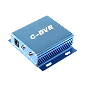 1CH Mini C-DVR Video/Audio Input/Output Motion Detect TF Card Digital Recorder (TF Card is NOT included)