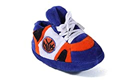 Happy Feet Mens and Womens New York Knicks NBA Baby Slippers