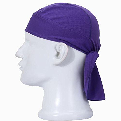 Lmeno Unisex Classic Bandane Pirate Bandana Adulto Hat Beach Headsweats Traspirante Cappellini Elmetto Ciclismo Headwrap headband Fascia capelli 12 Colori Opzionale