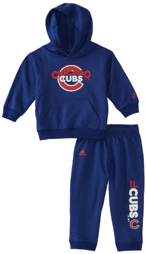MLB Infant Chicago Cubs Fleece Crew & Pant Set (Western Blue, 24mos) at Amazon.com