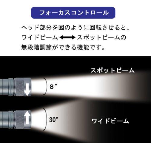 GENTOS(ジェントス) 閃 305 【明るさ100ルーメン/実用点灯10時間】 SG-305