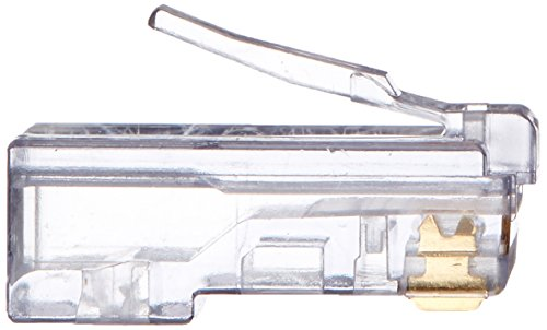 Platinum Tools 100003B EZ-RJ45 Cat5e Connector, 100-Pack