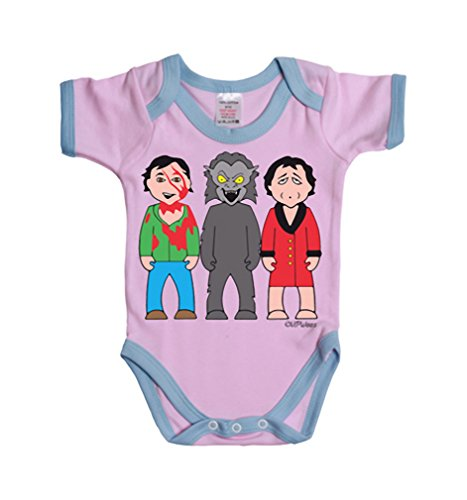 Vipwees Bad Moon Rising In London Werewolf Baby Grow Vest Retro Clothes Movie Gift
