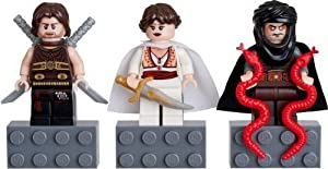 LEGO Prince of Persia Mini Figure Magnet Set - Dastan, Tamina, Hassanssin Leader by LEGO